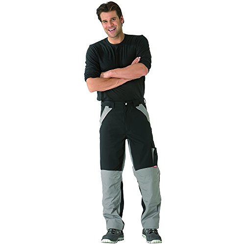 Planam Pantalon plaline - schwarz/zink