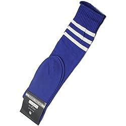 Interesting® 1 par fútbol béisbol Fútbol Baloncesto sobre rodilla tobillo calcetines de deporte para las mujeres de los hombres - azul