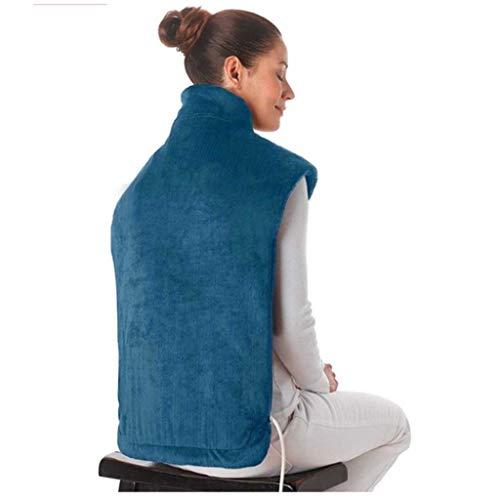 DYS@ Elektrische Heizung Schal, Haushalt Winter Warm Flanell Massieren Wärme Schal Wrap Hals Schultern Muscle Joint Massager - Massieren, Wärme-pad