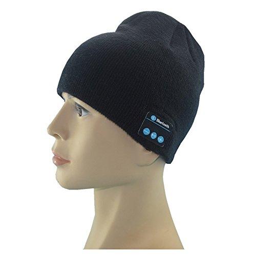 Soft Warm Beanie Hat Wireless Bluetooth Smart Cap Headset Headphone Speaker Mic Bluetooth Hat Test