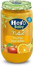 Hero Baby - Infantil Frutas Variadas. A Partir De 4 Meses. Sin gluten 235 gr - Pack de 12 (Total 2820 gr)