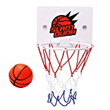Basketballboard , Mini basketballkorb Slam Basketball Brett Dekomprimieren Spielzeug Freizeit Sport mit Ball und Pumpe für Büro, Zimmer, Schlafzimmer by Vovotrade (Mehrfarbig)
