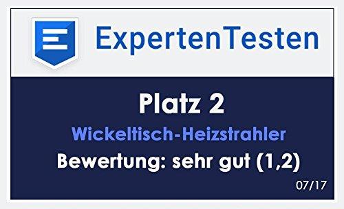 VASNER Infrarot-Heizstrahler Appino 20 weiß mit Abdeckhaube AirCape S, App-Steuerung, 2000 Watt, Fernbedienung, Terrassenstrahler-Infrarot - 9