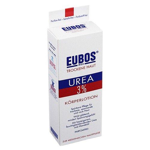 EUBOS TROCKENE HAUT Urea 3{77b631427ed29af298014c0b92aa6d4ff0d8cdefa332fc742647f633ccc94318} Koerperlotion, 200 ml