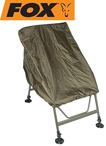 FOX Waterproof Chair Cover XL - Schutzhaube für Angelstuhl, Schutzplane für Karpfenstuhl, Regenschutz für Stuhl, Stuhlschoner
