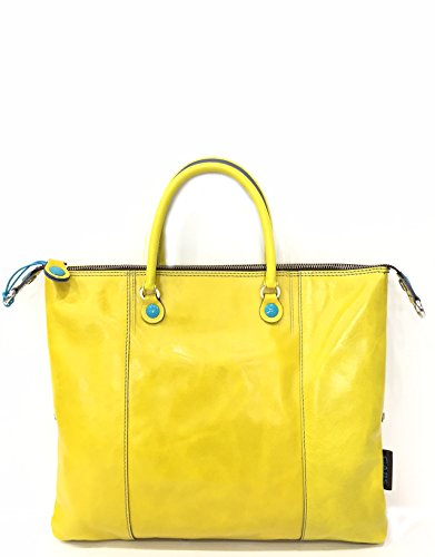 gabs , Damen Henkeltasche S Gelb