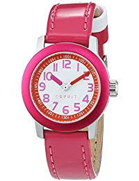 Esprit Mädchen-Armbanduhr Analog Quarz Leder ES107614003