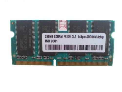 256MB SDRAM SODIMM - Samsung Chips (3rd) - 100MHz PC100 / 144pin 256 MB SD RAM (Notebook RAM) Speicher
