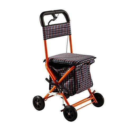 Roller Walker Mit Bremse Verstellbare Gehhilfe Senioren Gehhilfe Einkaufswagen Wagen Reha Training Walker Einkaufskorb
