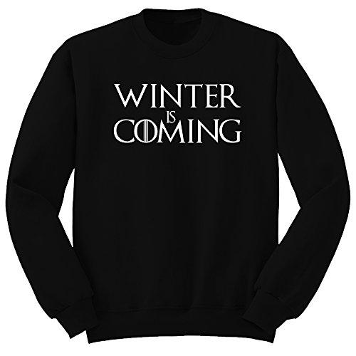 Sudadera Winter is coming. Tributo Juego de tronos. Sudadera de hombre