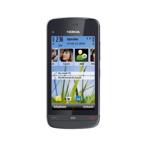Vodafone Nokia C5-03 nero sim-free senza contratto,