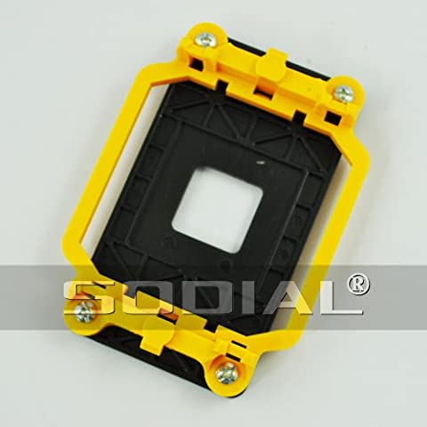 SODIAL(R) CPU Retention Bracket Base Yellow for AMD Socket AM2 940