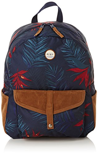 Roxy Carribean, Sac porté dos - Bleu (Midnight Palm Option 2/Combo), Taille Unique