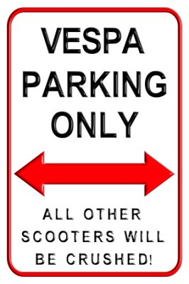 vespa-scooter-parking-only-aluminium-medium-size-metal-wall-sign-20x30cms