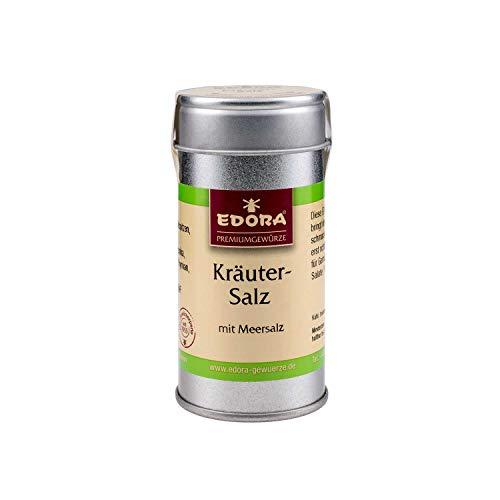 Premium Qualität Gewürz EDORA Streudose Streuer Kräuter-Salz Kräutersalz Kräuter Salz mit Meersalz 50 Gramm - Kräuter-salz
