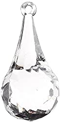 Firefly Imports Acrylic Crystal Raindrop Chandelier Drops, 2-1/2-Inch, 6-Pack