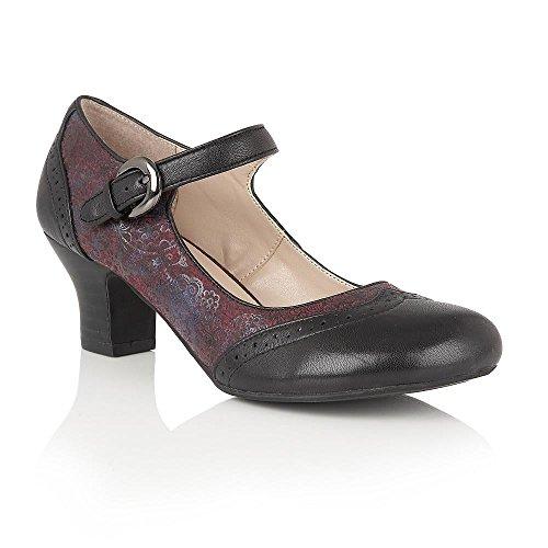 lotus-hallmark-laleh-nero-cuoio-bordeaux-stampa-scarpe-mary-jane-5