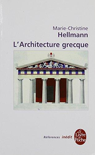 L'architecture grecque