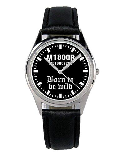 Kiesenberg Uhr 2305-B Geschenk Artikel für Suzuki Intruder M1800R Motorrad Biker Fans und Fahrer