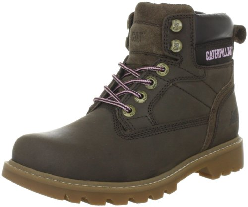 Caterpillar WILLOW P305059, Damen Fashion Halbstiefel & Stiefeletten, Braun (Tyre Nubuck), EU 38 (US 5)