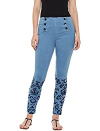 Rider Republic Women's Slim Jeans (312022B-32_Light Blue_32)