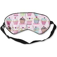 Cute Pink Cake Sleep Eyes Masks - Comfortable Sleeping Mask Eye Cover For Travelling Night Noon Nap Mediation... preisvergleich bei billige-tabletten.eu
