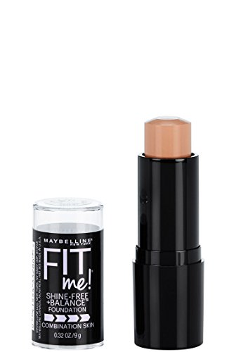 NEW Maybelline FIT Me Shine-free Foundation Stick Oil Free Buff Beige 130 (0.32 Oz) by Maybelline