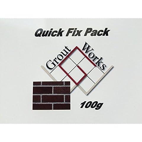 Da unire Ready Mix Quick Fix, confezione da 100 g, per piccoli fori, per riparazioni, In casa, mattone articolazioni mortaio Morter ferro, modello traforo camino di rendering