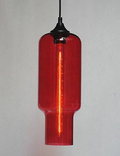 Illuminazione jiaily moderno pendente in vetro marrone Design Bolla ,
