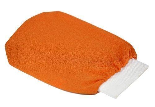 moroccan-hammam-exfoliating-glove-mitt-kesse-gant-de-gommage-tangerine