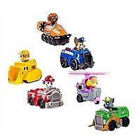 Paw patrol 6pcs toy