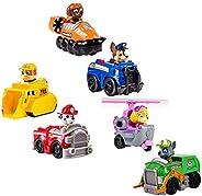 مجموعة ألعاب أطفال مكونة من 6 قطع باو باترول سنو سلايد من باو باترول