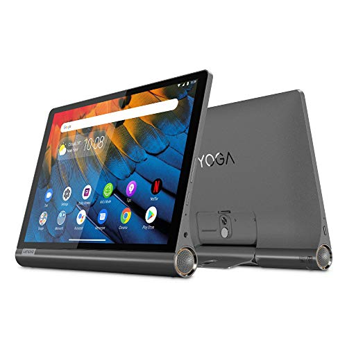 Lenovo Yoga Smart Tab 25,5 cm (10,1 Zoll, 1920x1200, FHD, IPS, Touch) Tablet-PC (Octa-Core, 4 GB RAM, 64 GB eMCP, Wi-Fi, Android 9) schwarz