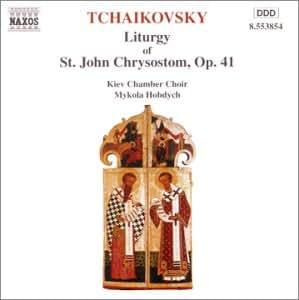 Liturgie de Saint Jean Chrysostome Op.41