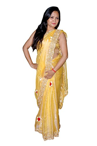 Kautuki Fashions Saree(Tissue)