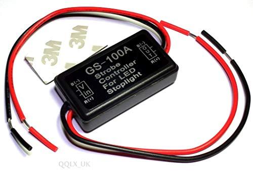 Generic Strobe Flash Contrôleur stroboscopique pour Ampoule LED pour Frein arrière arrière LED 12 à 16 V
