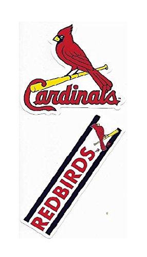 Rico Industries St. Louis Cardinals Double Up Vinyl-Aufkleber (Louis St Cardinals-aufkleber)