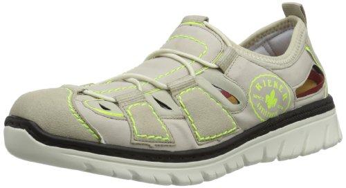 Rieker - L0777, Sneaker Donna Beige (Beige (champignon/grey/beige/neongelb 60))
