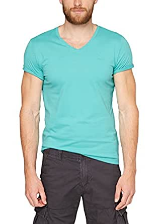 s.Oliver Herren T-Shirt Single Jersey, Einfarbig, Gr. XXX-Large, Grün (porcelain 6634)