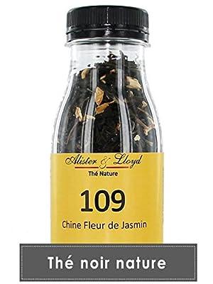 Alister & Lloyd Chine Jasmin - Thé Noir parfumé au Jasmin - 55g