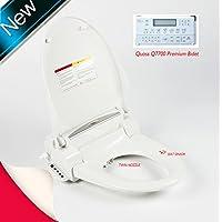 Telecomando q7700elettronico Sitz bagno pulito WC bidet Washlet Acqua calda, dimensioni Sedile Rotondo