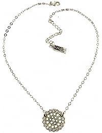 Amaro Halskette Pearl Gem silber-weiss