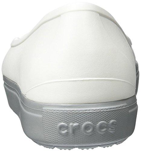 Crocs Citilane Flat W Whi, Ballerines femme Blanc (White)