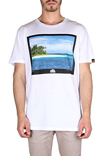 Sundek Herren T-Shirt Bianco