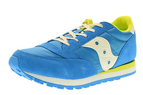 Saucony Jazz Original Kids - SC56443 Blue Off White Lime - 9c12f3564c0
