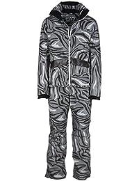 Emporio Armani EA7 mono de esquí con pantalones y chaqueta hombre invernal negro