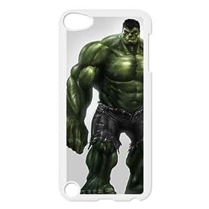 Qzfh iPod Touch 5 Case White Hulk