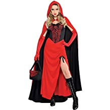 Amscan International - Disfraz para adulto Caperucita Roja (844629-55)