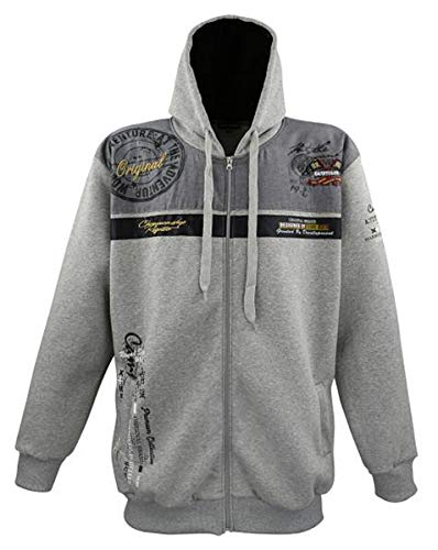 Lavecchia LV-2022 Grey Sweatshirtjacke (7XL)