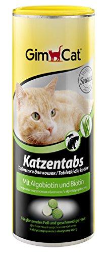 GimCat Katzentabs | köstlicher Snack kombiniert mit funktionalen Inhaltsstoffen | ohne Geschmacksverstärker | Algobiotin und Biotin | 1 Dose (1 x 425 g)